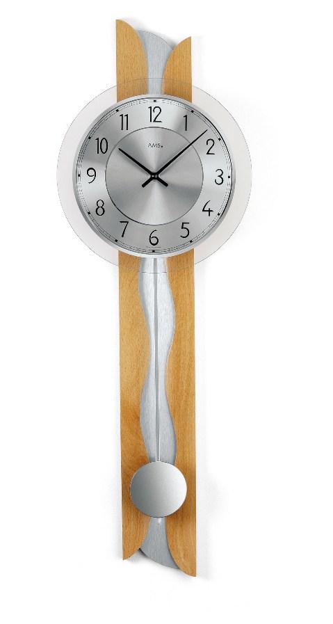 AMSアームス振り子時計 7216-18 ドイツ製 AMS掛け時計 アームス掛け時計