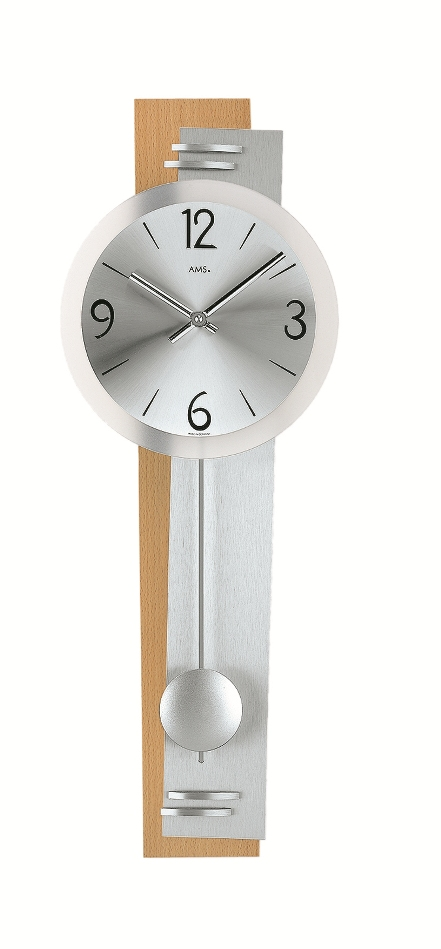 AMSアームス振り子時計 ams7255-18 ドイツ製 AMS掛け時計 アームス掛け時計