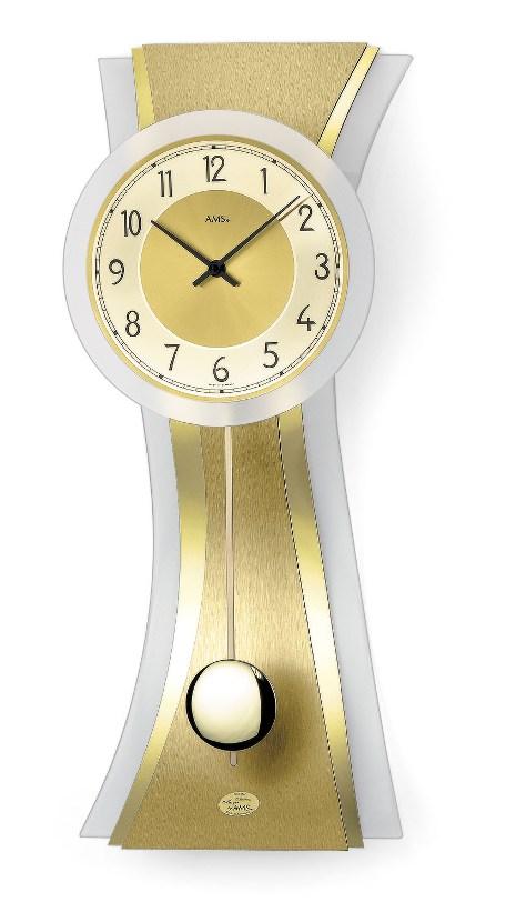 AMSアームス振り子時計 7267  ドイツ製 AMS掛け時計 アームス掛け時計