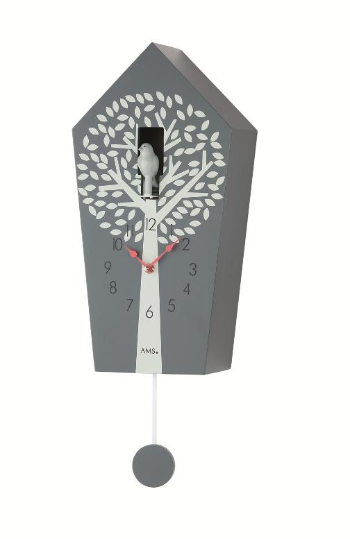 鳩時計 AMSアームスカッコー振り子時計 ams7287 ドイツ製 カッコークロック はと時計 AMS掛け時計 アームス掛け時計