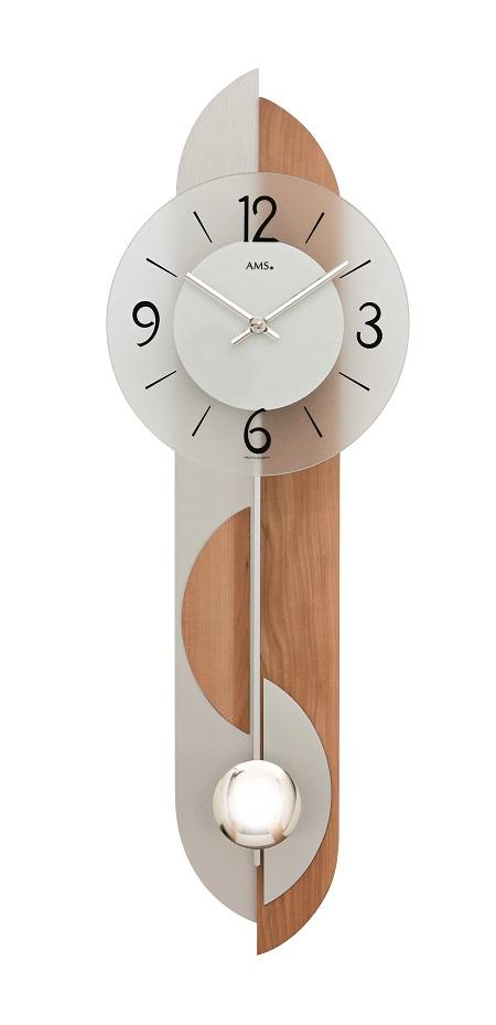 AMSアームス振り子時計 7295 ドイツ製 AMS掛け時計 アームス掛け時計