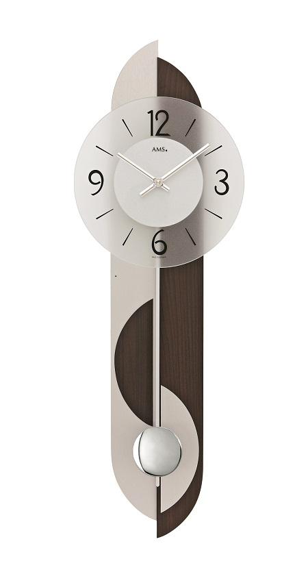 AMSアームス振り子時計 7299-1 ドイツ製 AMS掛け時計 アームス掛け時計
