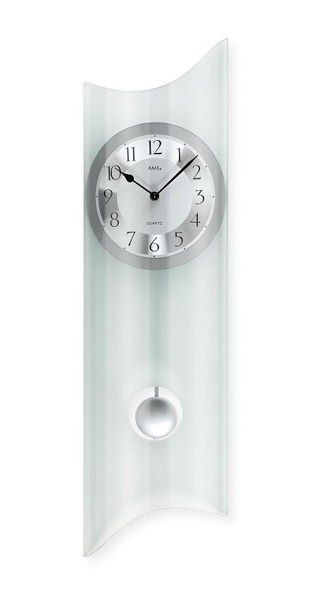 ガラスが美しい振り子時計! AMSアームス振り子時計 7324 AMS振り子時計