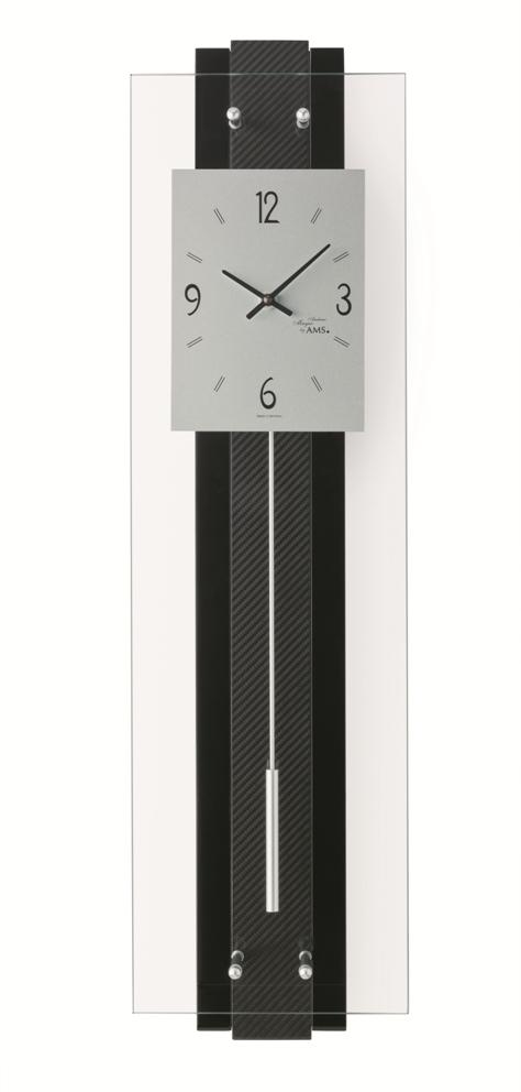 アームスAMS振り子時計 カーボン 7394 ドイツ製 AMS掛け時計 アームス掛け時計
