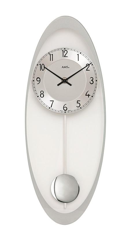 AMSアームス振り子時計 7416 ドイツ製 AMS掛け時計 アームス掛け時計