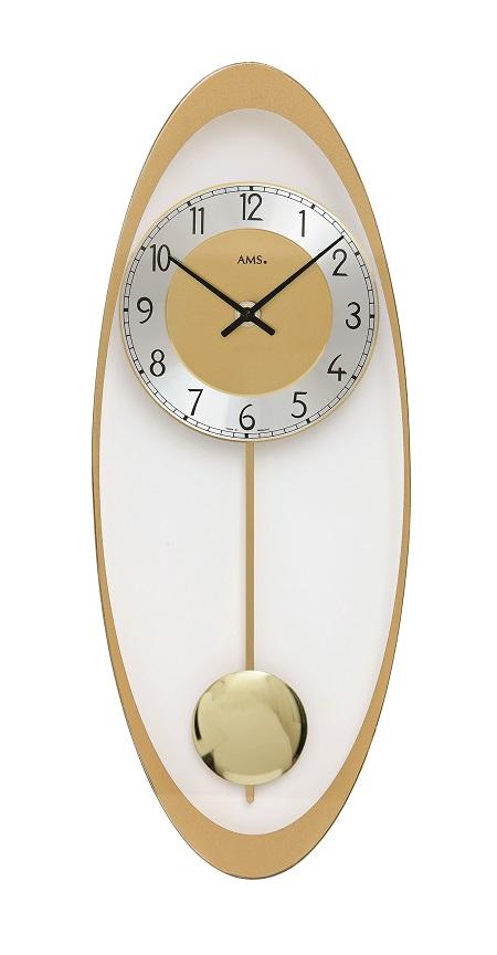 AMSアームス振り子時計 7417 ドイツ製 AMS掛け時計 アームス掛け時計