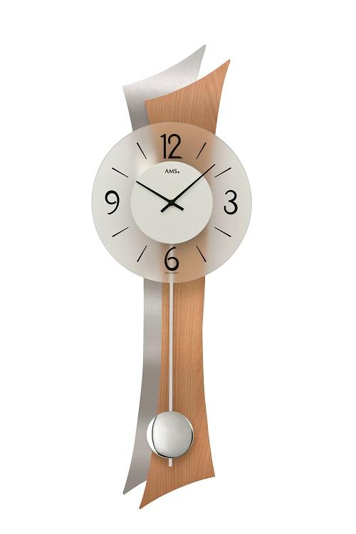 AMSアームス振り子時計 7425 ドイツ製 AMS掛け時計 アームス掛け時計
