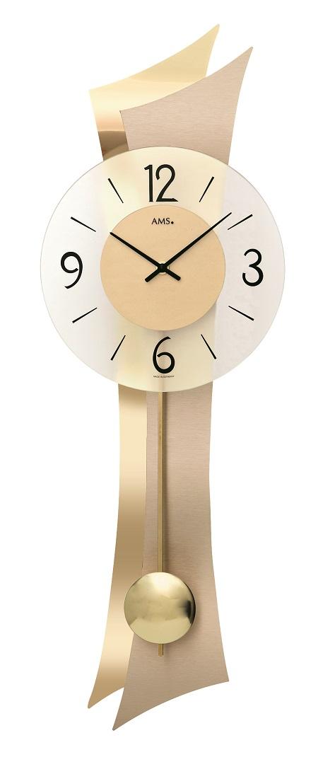 AMSアームス振り子時計 7427 ドイツ製 AMS掛け時計 アームス掛け時計