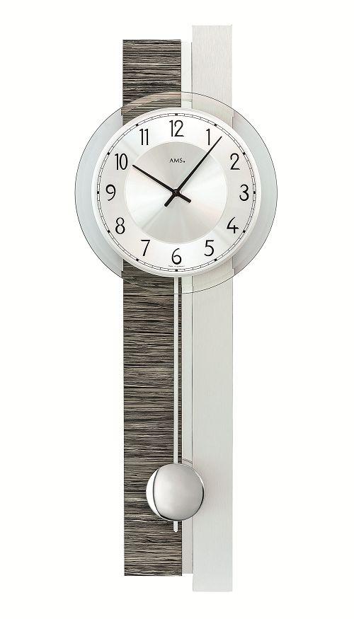 斬新デザインが目を引きます! AMS(アームス)振り子時計 7439 AMS振り子時計