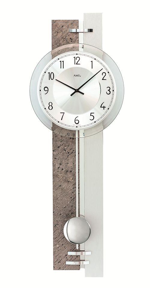 斬新デザインが目を引きます! AMS(アームス)振り子時計 7440 AMS振り子時計