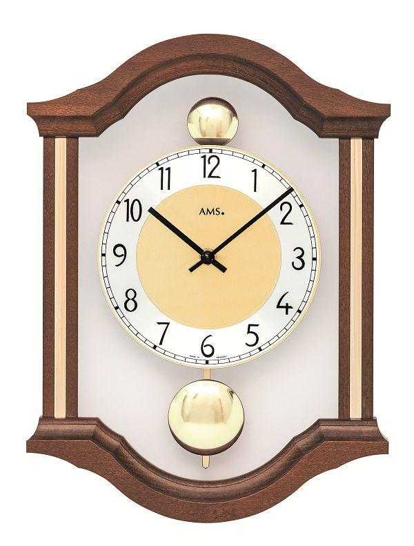 斬新デザインが目を引きます! AMS(アームス)振り子時計 7447-1 AMS振り子時計