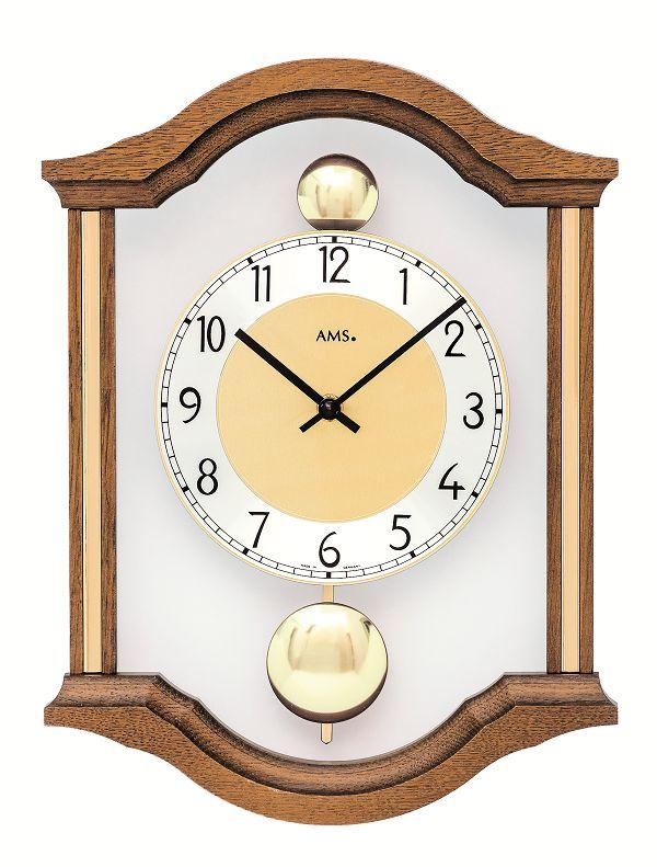 斬新デザインが目を引きます! AMS(アームス)振り子時計 7447-4 AMS振り子時計