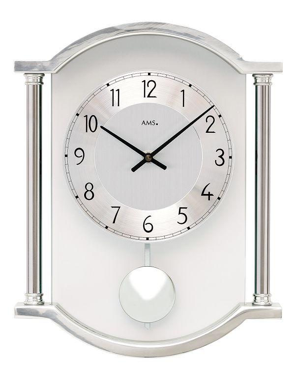 斬新デザインが目を引きます! AMS(アームス)振り子時計 7448 AMS振り子時計