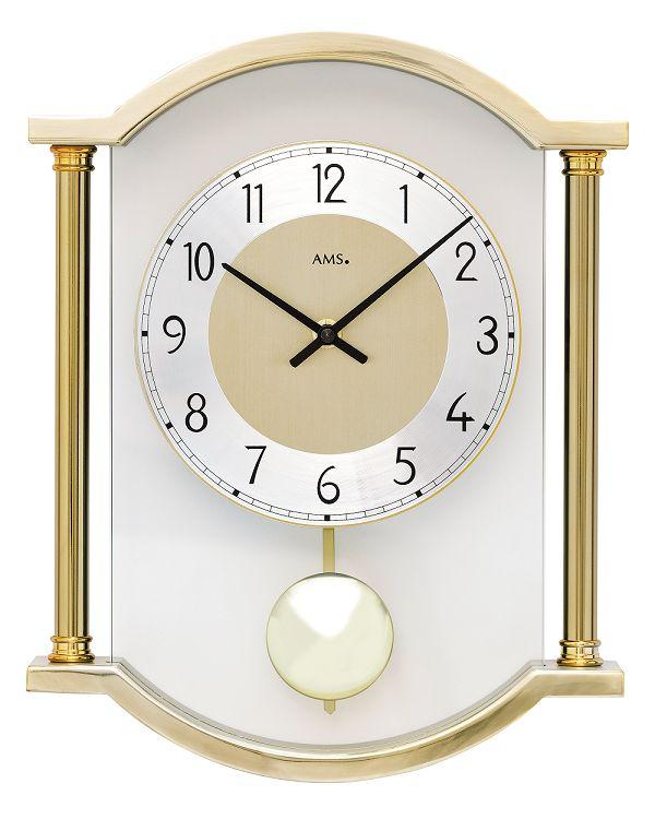 斬新デザインが目を引きます! AMS(アームス)振り子時計 7449 AMS振り子時計