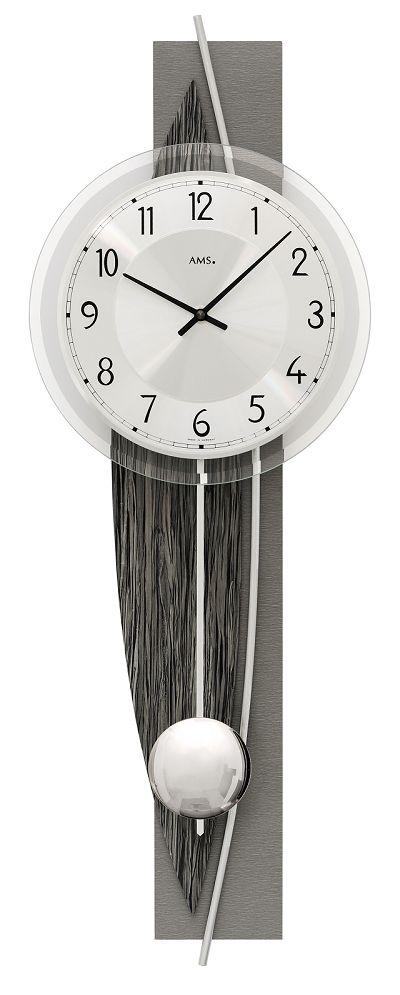 斬新デザインが目を引きます! AMS(アームス)振り子時計 7458 AMS振り子時計