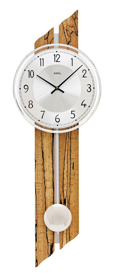 AMSアームス振り子時計 7468 ドイツ製 AMS掛け時計 アームス掛け時計 天然木
