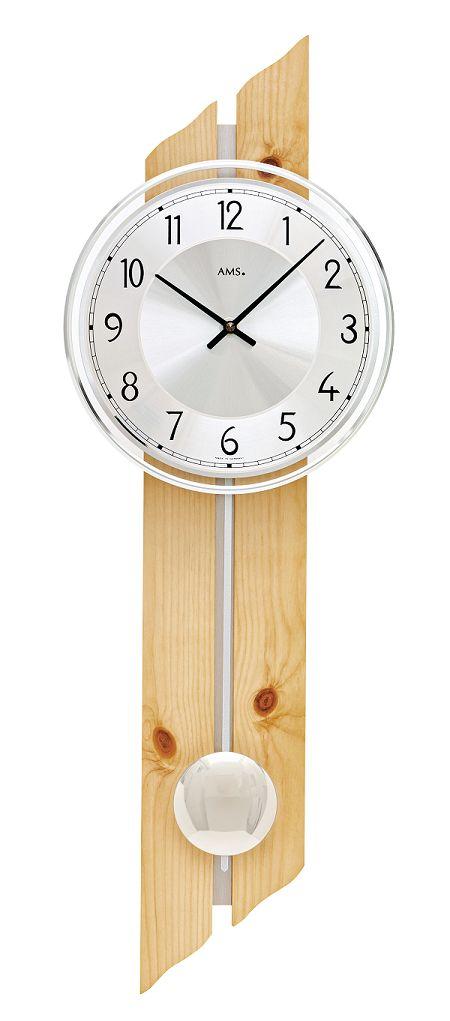 AMSアームス振り子時計 7469 ドイツ製 AMS掛け時計 アームス掛け時計 天然木