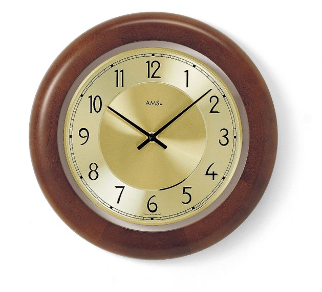 AMSアームス掛け時計 ドイツ製 9063-1 AMS掛け時計【送料無料】【楽ギフ_のし】【楽ギフ_メッセ入力】【楽ギフ_名入れ】