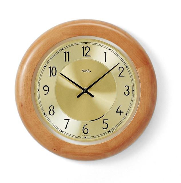 AMSアームス掛け時計 ドイツ製 9063-18 AMS掛け時計【送料無料】 【楽ギフ_のし】【楽ギフ_メッセ入力】【楽ギフ_名入れ】