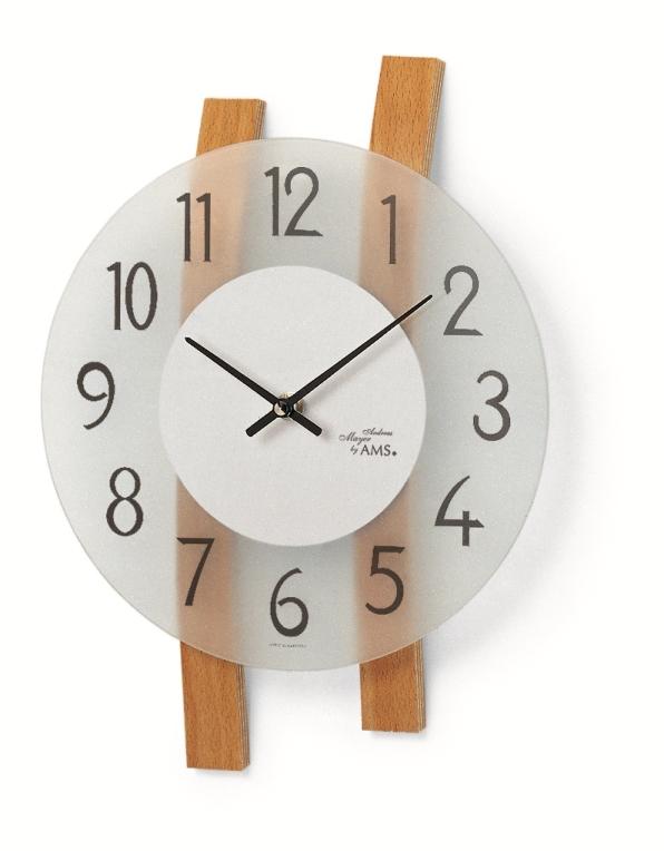 AMSアームス掛け時計 ドイツ 9203 AMS掛け時計【送料無料】 【楽ギフ_のし】【楽ギフ_メッセ入力】【楽ギフ_名入れ】