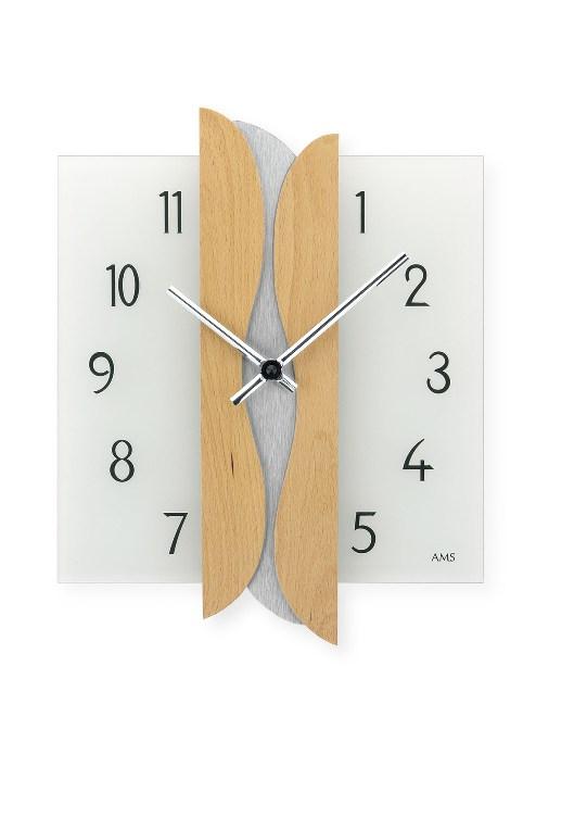 お洒落なAMSアームス掛け時計 9214-18 ドイツ アームス時計 AMS掛け時計 【楽ギフ_のし】【楽ギフ_メッセ入力】【楽ギフ_名入れ】