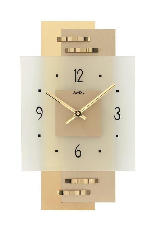 お洒落なAMSアームス掛け時計 ドイツ製 9241 AMS掛け時計 【楽ギフ_のし】【楽ギフ_メッセ入力】【楽ギフ_名入れ】