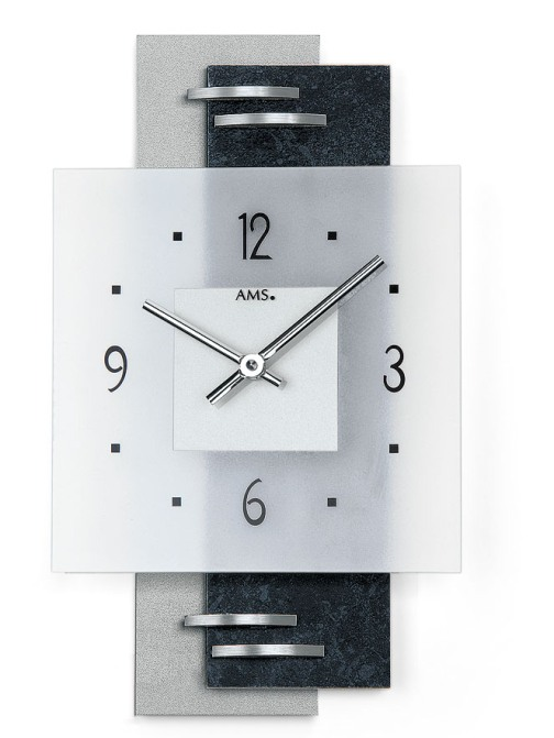お洒落なAMSアームス掛け時計 ドイツ製 9245 AMS掛け時計 【楽ギフ_のし】【楽ギフ_メッセ入力】【楽ギフ_名入れ】