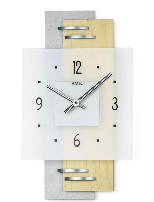 お洒落なAMSアームス掛け時計 ドイツ製 9248 AMS掛け時計 【楽ギフ_のし】【楽ギフ_メッセ入力】【楽ギフ_名入れ】