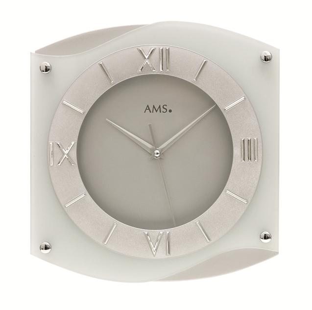 AMS アームス掛け時計  ドイツ製 AMS9321 AMS掛け時計 スタイリッシュな掛け時計【楽ギフ_のし】【楽ギフ_メッセ入力】【楽ギフ_名入れ】