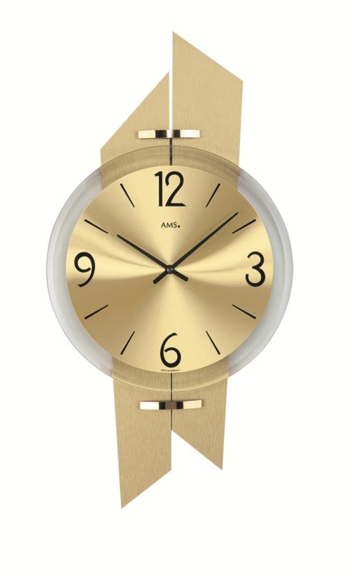 AMSアームス掛け時計 ドイツ製 9344 AMS掛け時計 スタイリッシュな掛け時計【楽ギフ_のし】【楽ギフ_メッセ入力】【楽ギフ_名入れ】