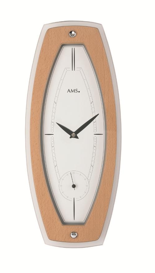 お洒落なAMSアームス掛け時計 ドイツ製 9357 アームス時計 AMS掛け時計 【楽ギフ_のし】【楽ギフ_メッセ入力】【楽ギフ_名入れ】