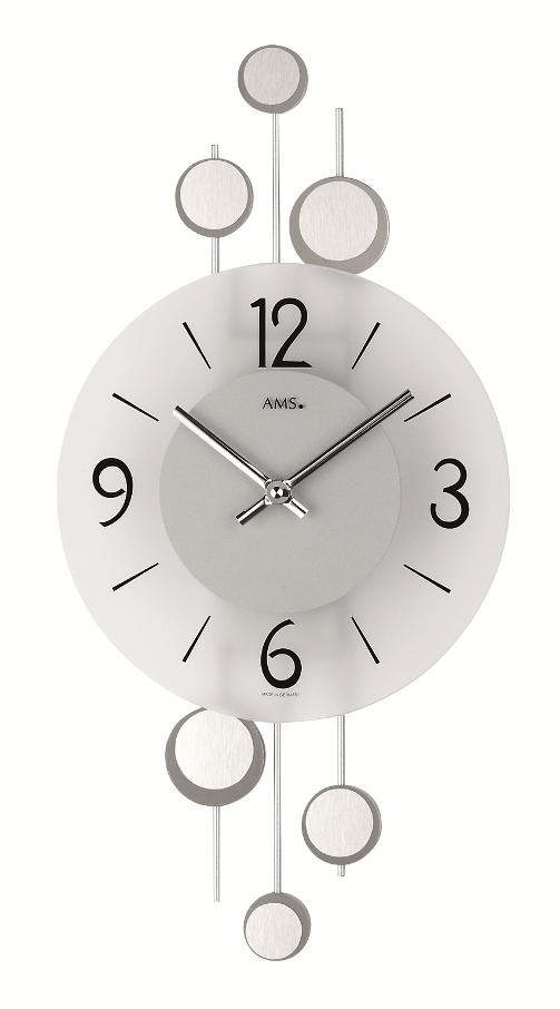 AMSアームス掛け時計 ドイツ 9388 AMS掛け時計 スタイリッシュな掛け時計【送料無料】 【楽ギフ_のし】【楽ギフ_メッセ入力】【楽ギフ_名入れ】