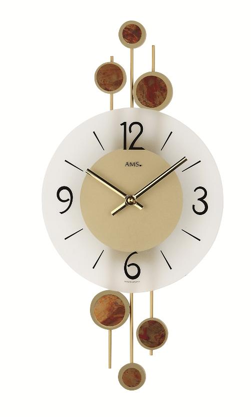 AMSアームス掛け時計 ドイツ 9389 AMS掛け時計 スタイリッシュな掛け時計【送料無料】 【楽ギフ_のし】【楽ギフ_メッセ入力】【楽ギフ_名入れ】