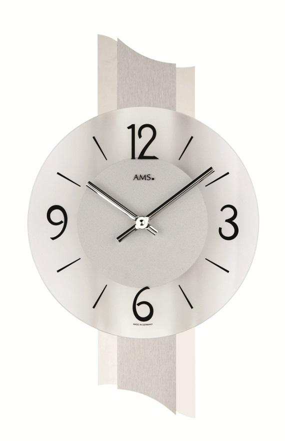 AMS アームス掛け時計  ドイツ製 AMS9394 AMS掛け時計 スタイリッシュな掛け時計【楽ギフ_のし】【楽ギフ_メッセ入力】【楽ギフ_名入れ】