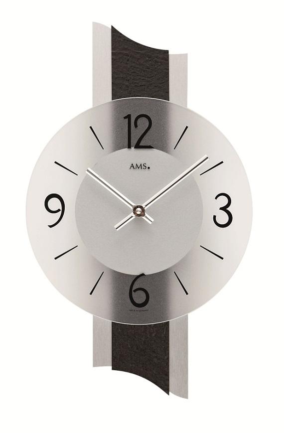 AMS アームス掛け時計  ドイツ製 AMS9395 AMS掛け時計 スタイリッシュな掛け時計【楽ギフ_のし】【楽ギフ_メッセ入力】【楽ギフ_名入れ】