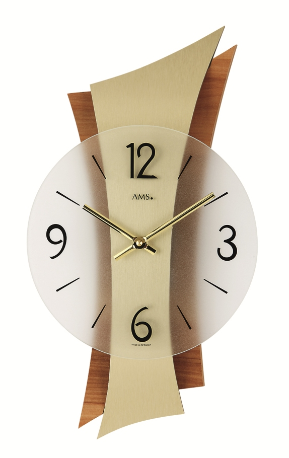 AMS アームス掛け時計  ドイツ製 AMS9396 AMS掛け時計 スタイリッシュな掛け時計【楽ギフ_のし】【楽ギフ_メッセ入力】【楽ギフ_名入れ】