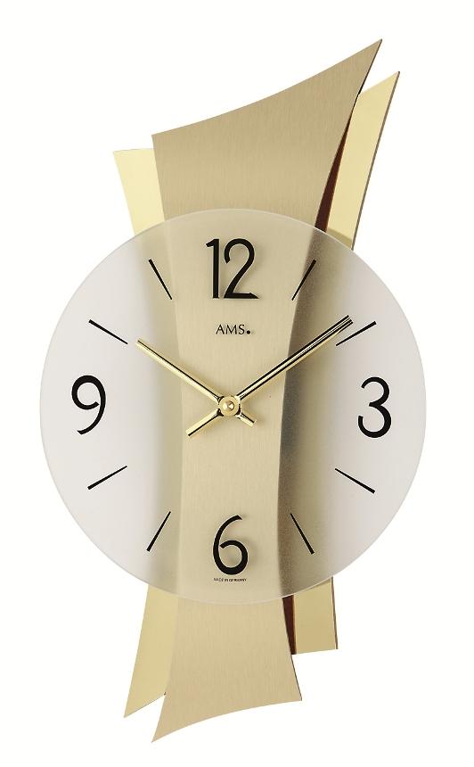 AMS アームス掛け時計  ドイツ製 AMS9397 スタイリッシュな掛け時計 AMS掛け時計【楽ギフ_のし】【楽ギフ_メッセ入力】【楽ギフ_名入れ】