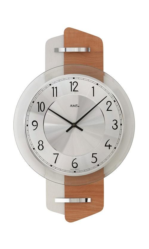 AMS アームス掛け時計  ドイツ製 AMS9406 AMS掛け時計【楽ギフ_のし】【楽ギフ_メッセ入力】【楽ギフ_名入れ】