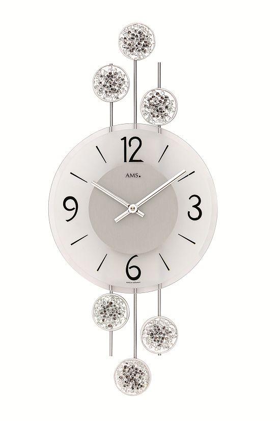 AMSアームス掛け時計 ドイツ 9440 AMS掛け時計 スタイリッシュな掛け時計【送料無料】 【楽ギフ_のし】【楽ギフ_メッセ入力】【楽ギフ_名入れ】