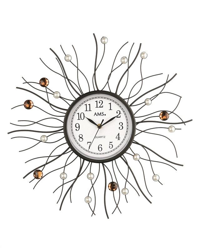 斬新なデザインです! AMS アームス掛け時計 AMS9445【送料無料】 【楽ギフ_のし】【楽ギフ_メッセ入力】【楽ギフ_名入れ】