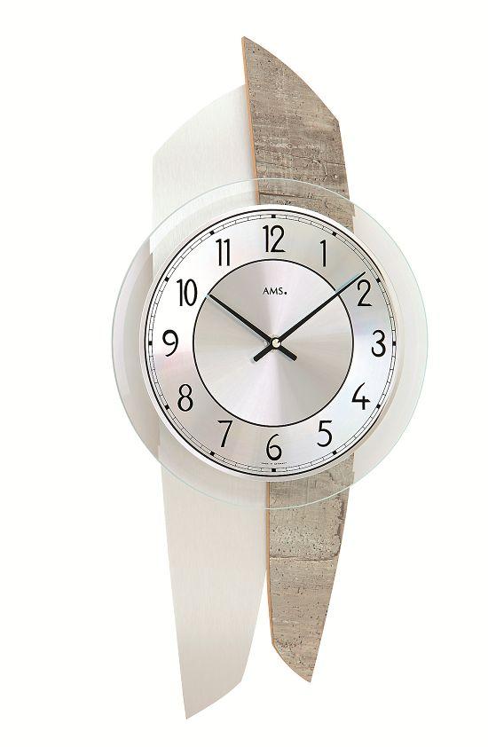 AMS(アームス)掛け時計 ドイツ AMS9498 【送料無料】 【楽ギフ_のし】【楽ギフ_メッセ入力】【楽ギフ_名入れ】