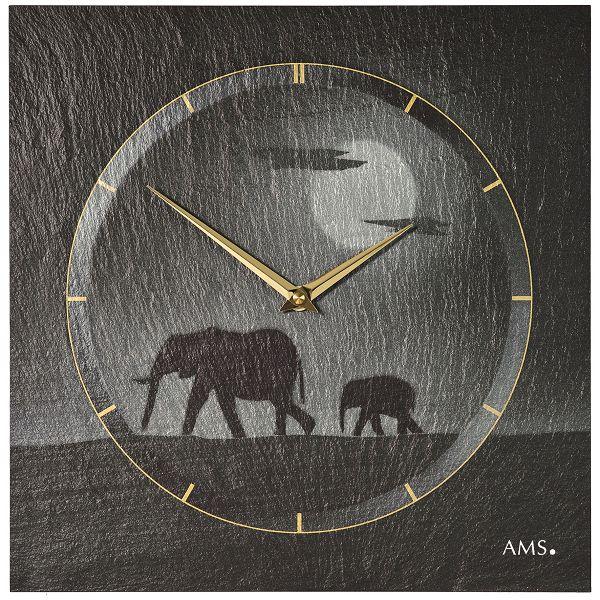 AMS掛け時計 AMS壁掛け時計 アームス掛け時計 AMS9524【送料無料】 【楽ギフ_のし】【楽ギフ_メッセ入力】【楽ギフ_名入れ】