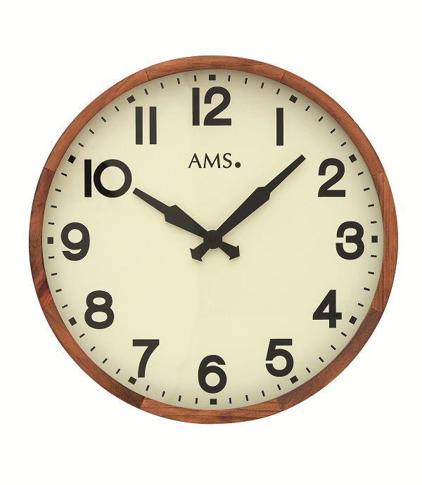 シンプルなデザインが魅力! AMS壁掛け時計 アームス掛け時計 AMS9535【送料無料】 【楽ギフ_のし】【楽ギフ_メッセ入力】【楽ギフ_名入れ】