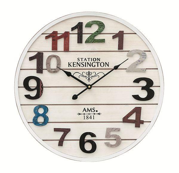 お洒落なデザインです! AMS掛け時計 アームス壁掛け時計 AMS9538【送料無料】 【楽ギフ_のし】【楽ギフ_メッセ入力】【楽ギフ_名入れ】