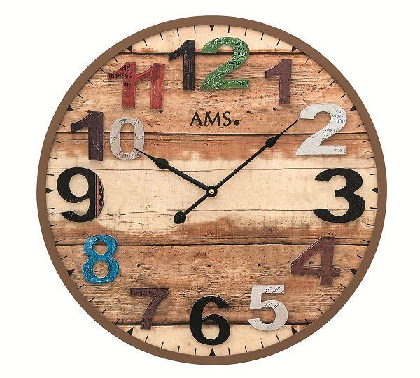 お洒落なデザインです! AMS掛け時計 アームス壁掛け時計 AMS9539【送料無料】 【楽ギフ_のし】【楽ギフ_メッセ入力】【楽ギフ_名入れ】