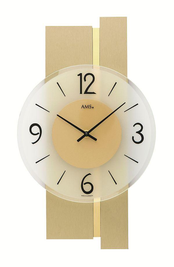 シンプルなデザインが魅力! AMS壁掛け時計 アームス掛け時計 AMS9553【送料無料】 【楽ギフ_のし】【楽ギフ_メッセ入力】【楽ギフ_名入れ】