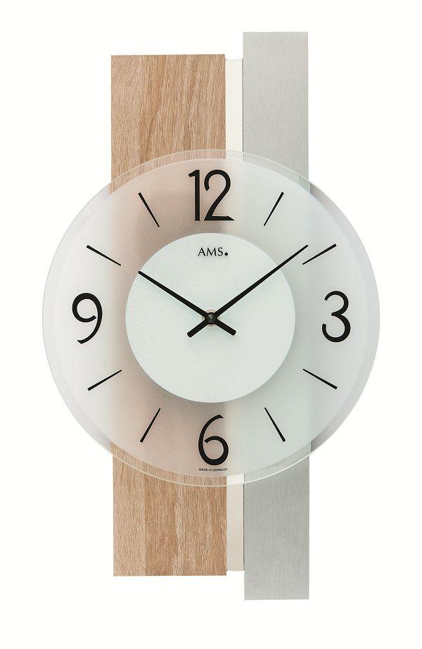 シンプルなデザインが魅力! AMS壁掛け時計 アームス掛け時計 AMS9554【送料無料】 【楽ギフ_のし】【楽ギフ_メッセ入力】【楽ギフ_名入れ】