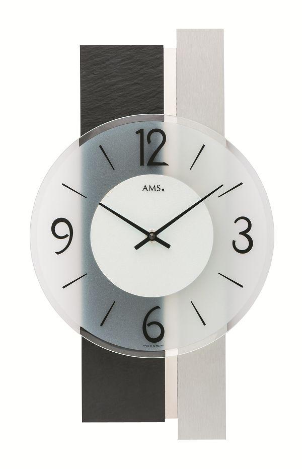 シンプルなデザインが魅力! AMS壁掛け時計 アームス掛け時計 AMS9555【送料無料】 【楽ギフ_のし】【楽ギフ_メッセ入力】【楽ギフ_名入れ】