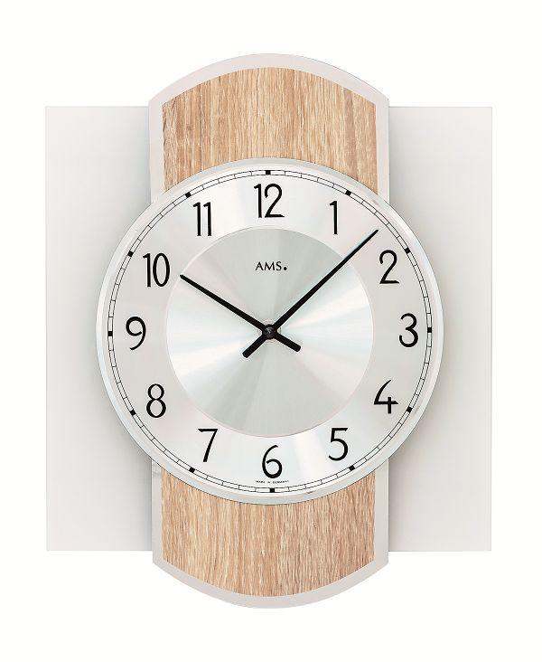 シンプルなデザインが魅力! AMS壁掛け時計 アームス掛け時計 AMS9561【送料無料】 【楽ギフ_のし】【楽ギフ_メッセ入力】【楽ギフ_名入れ】