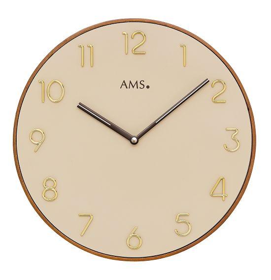 シンプルなデザインが魅力! AMS壁掛け時計 アームス掛け時計 AMS9563【送料無料】 【楽ギフ_のし】【楽ギフ_メッセ入力】【楽ギフ_名入れ】